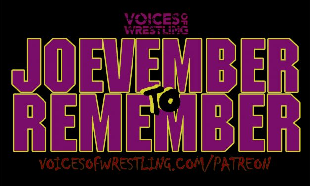 Joevember To Remember 015: Eddie Gilbert Is Cancelled