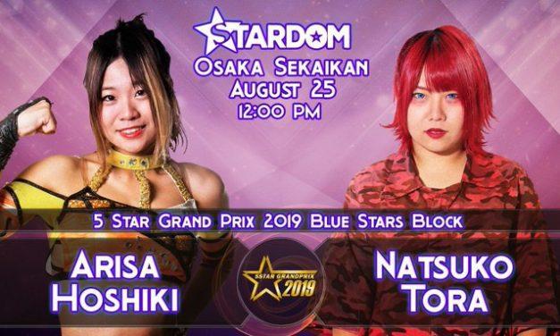 STARDOM 5STAR Grand Prix 2019 Day 3 (August 25 Afternoon Show)