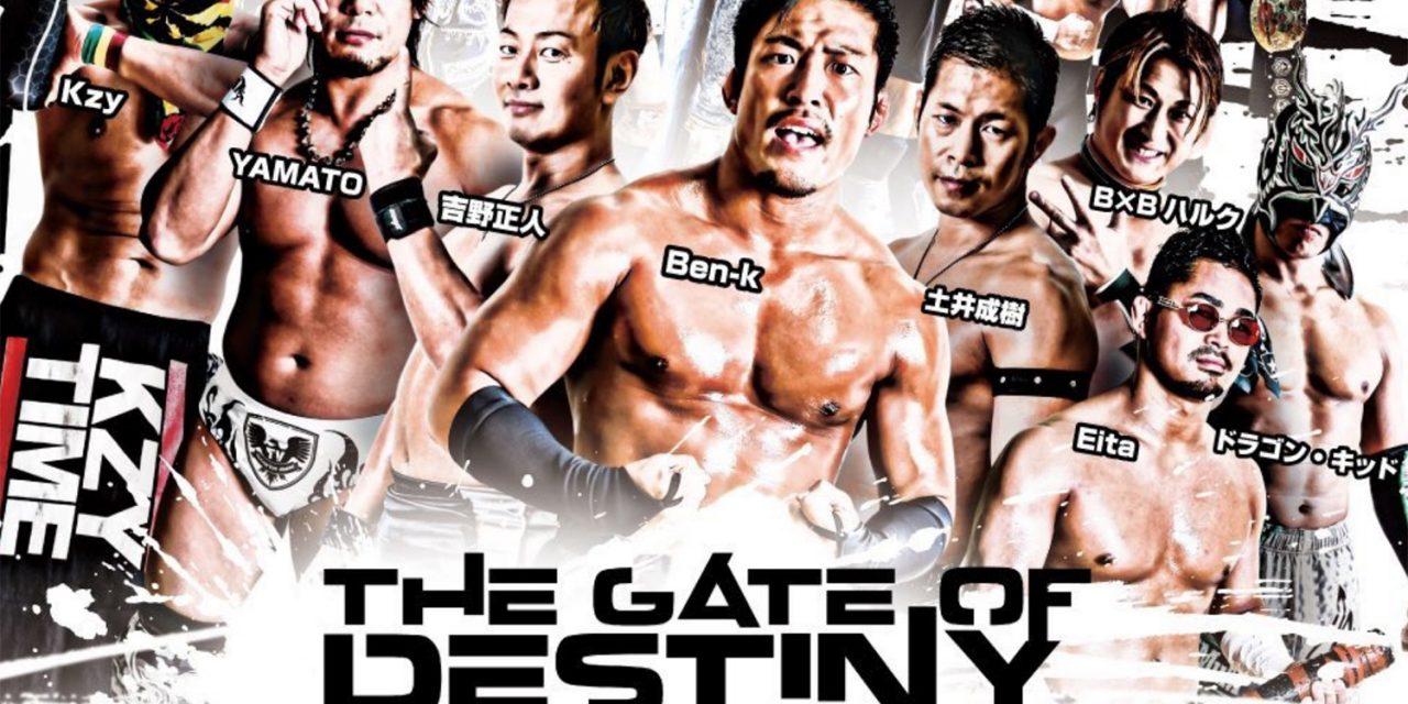 Dragon Gate Gate of Destiny 2019 (November 4) Preview & Predictions