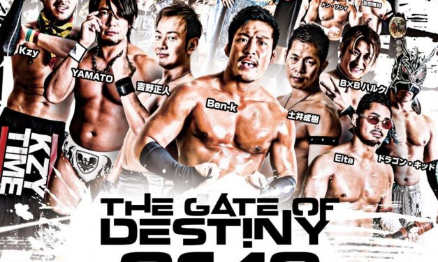 Dragon Gate Gate of Destiny 2019 (November 4) Preview & Predictions