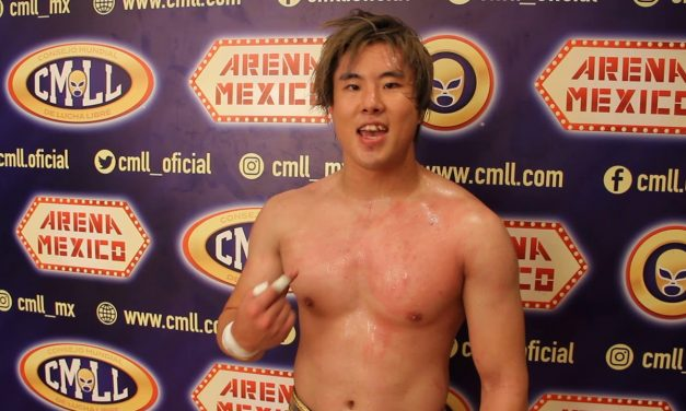 Kawato's Getting A Haircut and Other CMLL Holiday Matches