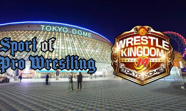 Sport of Pro Wrestling – NJPW Wrestle Kingdom 14 (Night 2) Statistics & Research