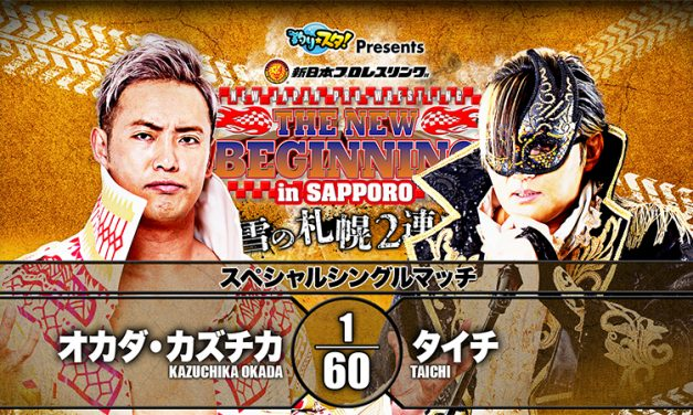 Sport of Pro Wrestling — NJPW New Beginning In Sapporo 2020 (Night 2) Statistics & Research