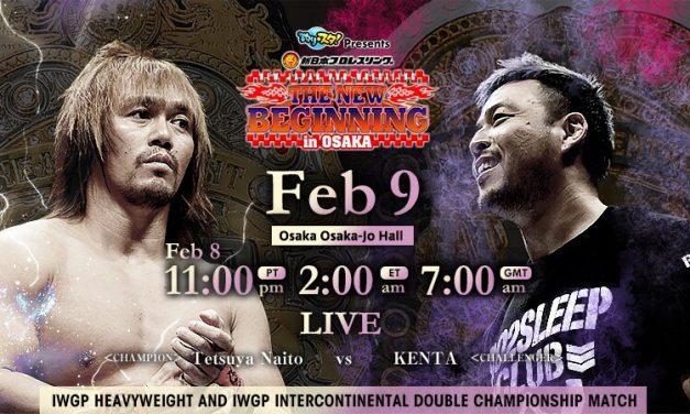Sport Of Pro Wrestling — NJPW New Beginning In Osaka 2020 Statistics & Research