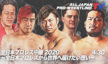 All Japan Pro Wrestling's Desire To Deliver To The World (April 30) Resuts & Review