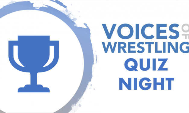 Voices of Wrestling Quiz Night – October 31st