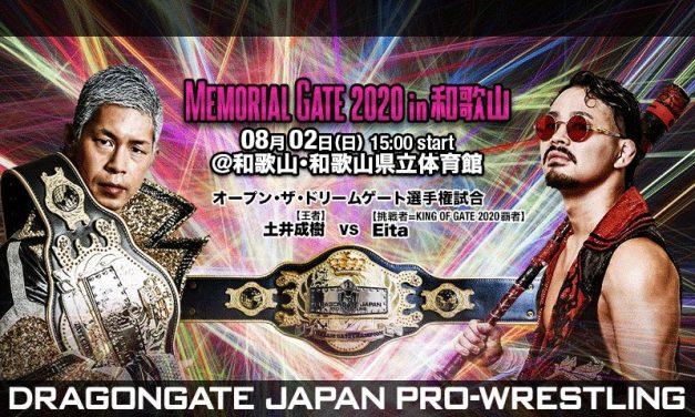 Dragongate Memorial Gate 2020 (August 2) Preview & Predictions