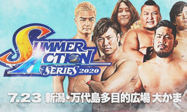AJPW Summer Action Series 2020 (July 23) Results & Review
