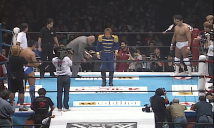 The Lapsed Lion King of Sports: NJPW Wrestle World 2002