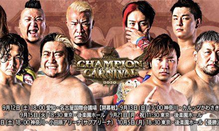 AJPW Champion Carnival 2020 Night 5 (September 26) Audio Review