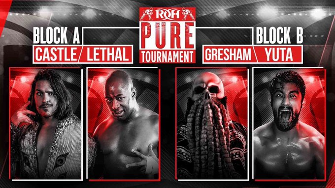 ROH Pure Title Tournament: Part 1 (September 11) Results & Review