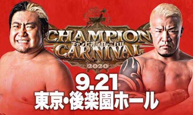 AJPW Champion Carnival 2020 Night 4 (September 21) Audio Review