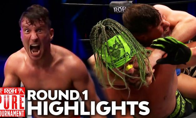 ROH Pure Title Tournament: Part 4 (October 2) Results & Review