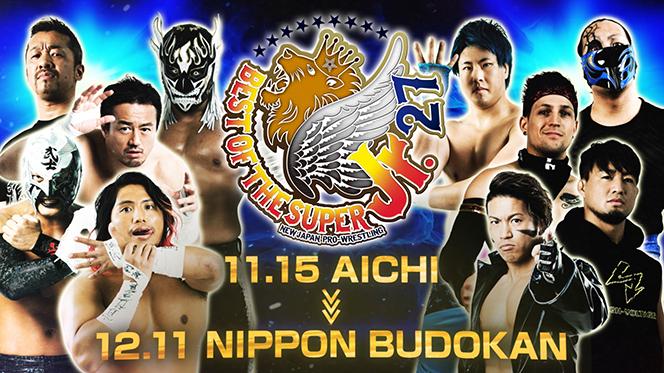 NJPW Best of the Super Juniors 27 Preview & Schedule