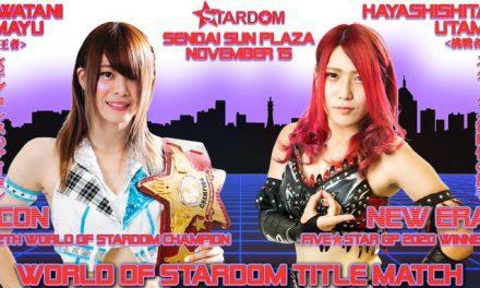 Stardom Sendai Cinderella (November 15) Results & Review