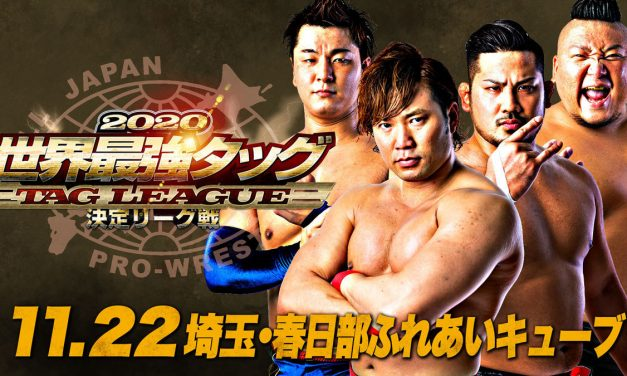 AJPW Real World Tag League 2020 Night 3 (November 22) Results & Review