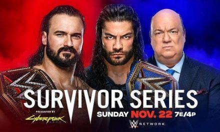 WWE Survivor Series 2020 Betting Odds