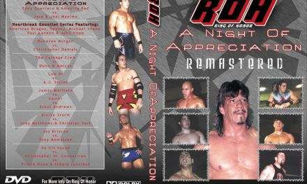 The Lapsed ROHBot: ROH A Night of Appreciation (4/27/2002)