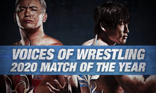 VOW 2020 Match of the Year (3: Kazuchika Okada vs. Kota Ibushi)