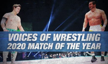 VOW 2020 Match of the Year (6: Go Shiozaki vs. Takashi Sugiura)