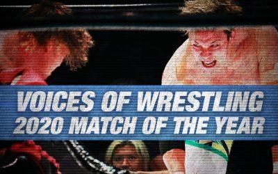 VOW 2020 Match of the Year (8: Katsuhiko Nakajima vs. Go Shiozaki)