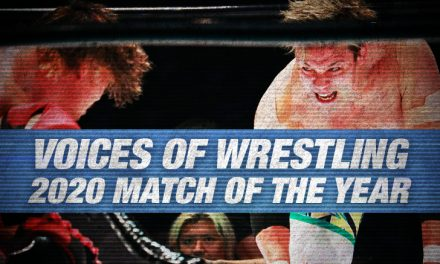 VOW 2020 Match of the Year (8: Katsuhiko Nakajima vs. Go Shiozaki)