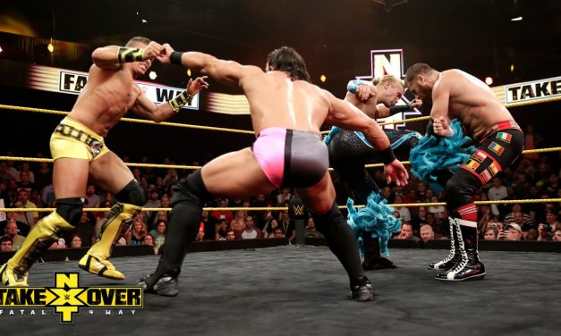 VOW Retro: The Arrival (NXT TakeOver: Fatal 4 Way)