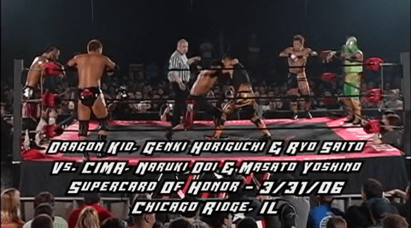 Do Fixer vs. Blood Generation: Wrestling's Most Influential Match…Ever