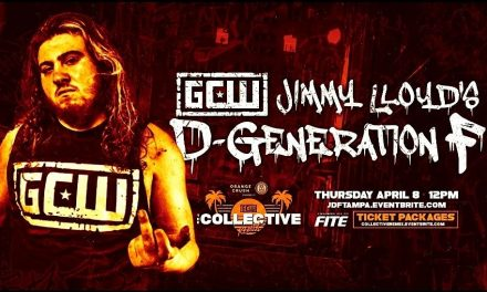 The Collective Jimmy Lloyd's Degeneration-F (April 8) Preview
