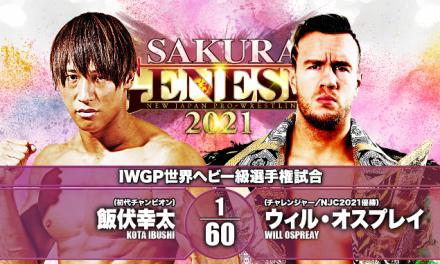 NJPW Sakura Genesis (April 4) Statistics, Research & Notes