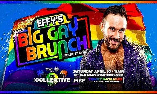 Effy's Big Gay Brunch (April 10) Review