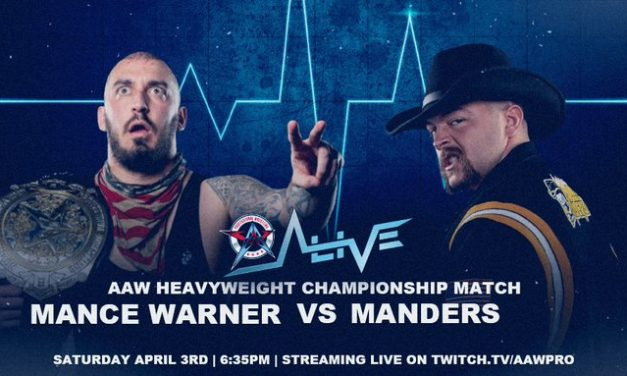AAW Alive (April 3) Results & Review