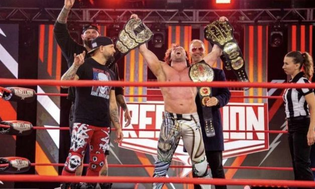 Impact Wrestling Rebellion 2021 (April 25) Results & Review