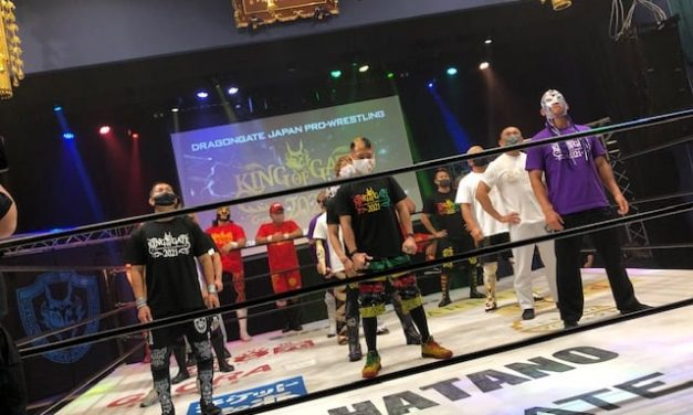 Dragongate King of Gate 2021 Night 1 (May 16) Results & Review