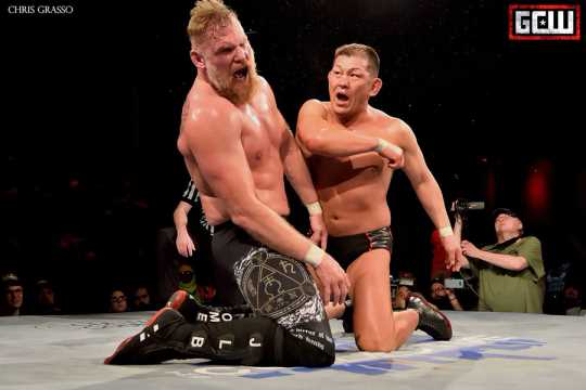 Beautiful Violence: Minoru Suzuki vs. Josh Barnett