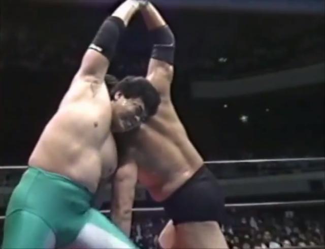 A Pillar Rises Into Heaven: Jumbo Tsuruta vs. Mitsuharu Misawa (June 8, 1990)