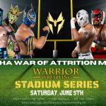 A Fan, an Egyptologist, and a Ballerina Walk Into a Warrior Wrestling Show…
