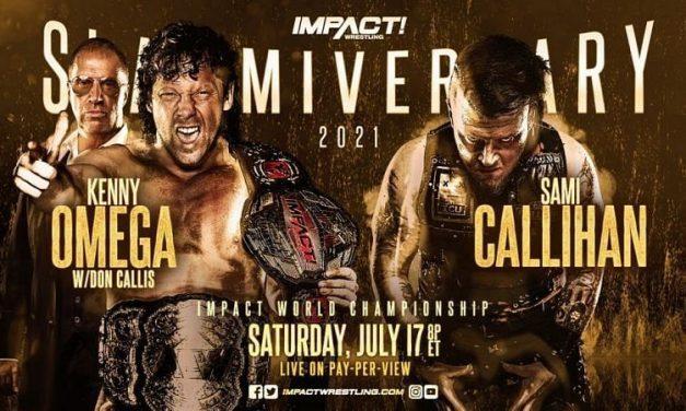 Impact Wrestling Slammiversary XVIII (July 17) Preview & Predictions