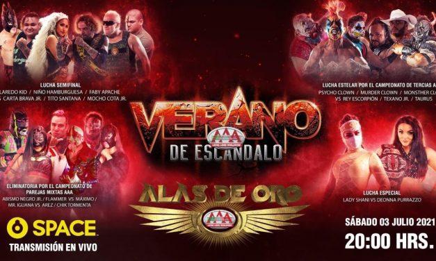 AAA Verano de Escándalo (July 3) Results & Review