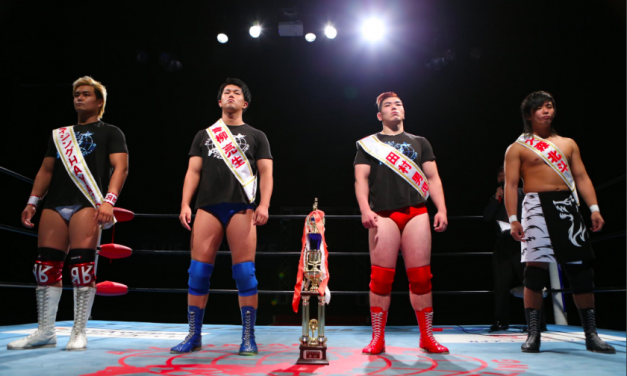 All Japan Pro Wrestling's Young Core