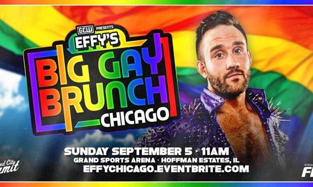 Effy's Big Gay Brunch Chicago: A Celebration of LGBTQIA+ Wrestling