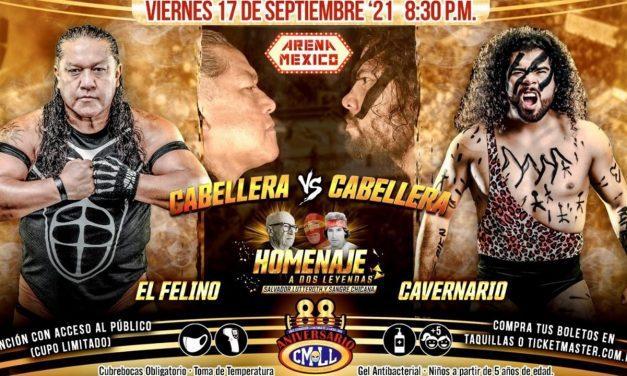 CMLL 2021 Homenaje a Dos Leyendas & CMLL Aniversario Preview
