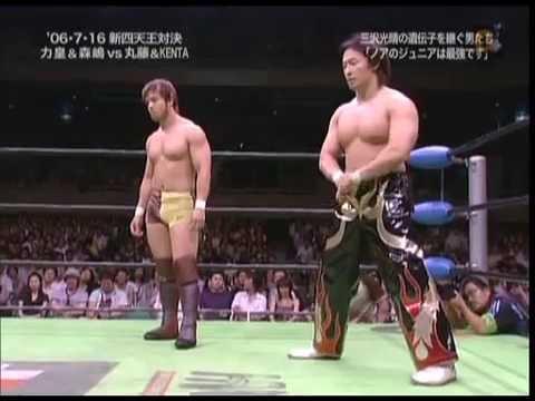 Match of the Week (September 13): KENTA & Naomichi Marufuji vs Takeshi Morishima & Takeshi Rikio (July 16, 2006)