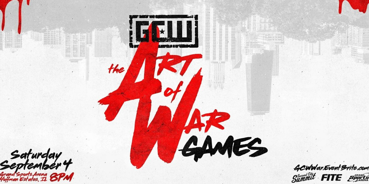 GCW The Art of War Games (September 4) Results & Review