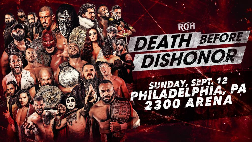 ROH Death Before Dishonor XVIII (September 12) Preview & Predictions