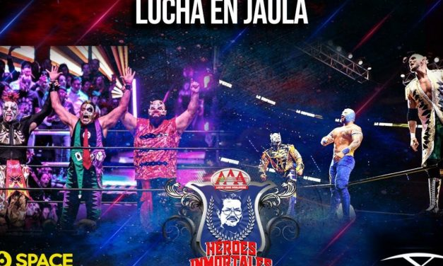 AAA Héroes Inmortales XIV (October 9) Results & Review